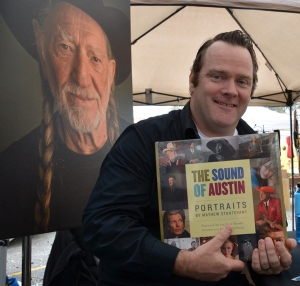 """Photographer Mathew Sturtevant's book, """"The Sound of Austin,"""" features portraits and interviews with 100 Austin musicians."""